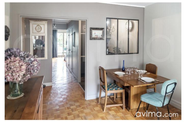 Appartement 2 pièces 49m2 balcon M° Jean-Jaurès Etage 2/7